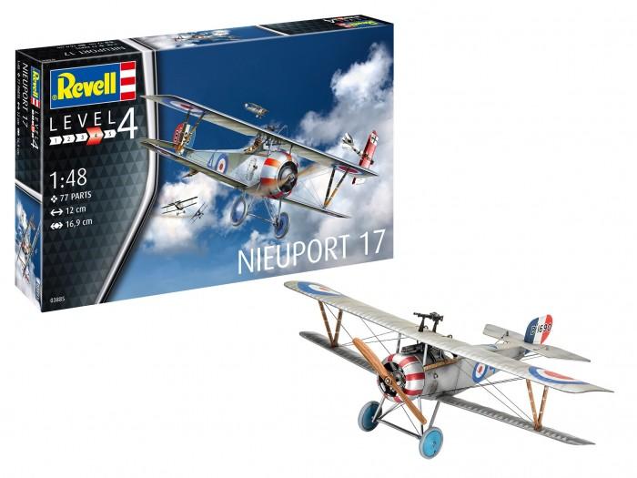 Купить Сборные модели, Revell Французский истребитель Nieuport 17