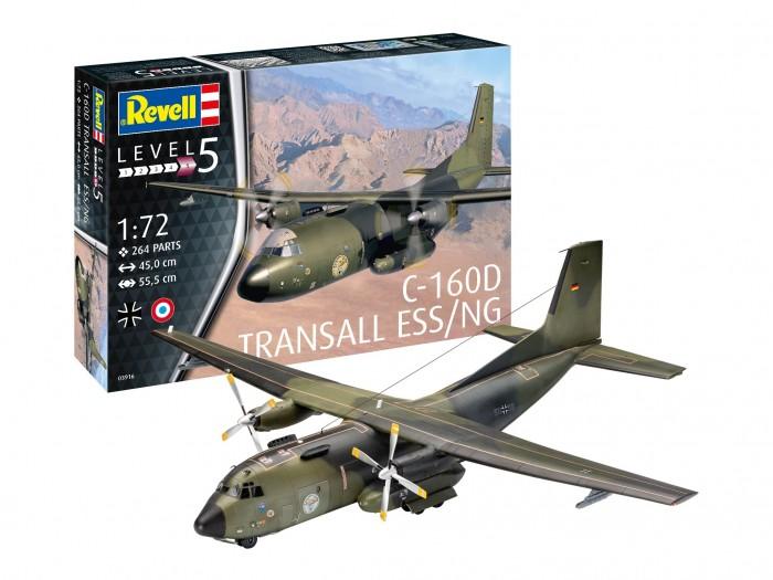 Купить Конструкторы, Конструктор Revell Военно-транспортный самолет Transall Eloka