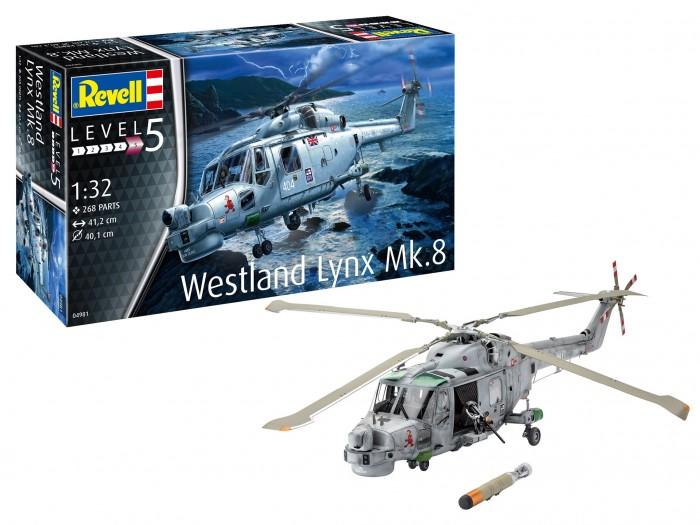 Картинка для Сборные модели Revell Многоцелевой вертолёт Уэстленд Линкс