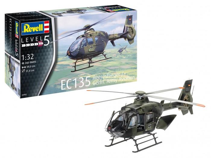 Картинка для Сборные модели Revell Вертолет Ec135 немецкая армия