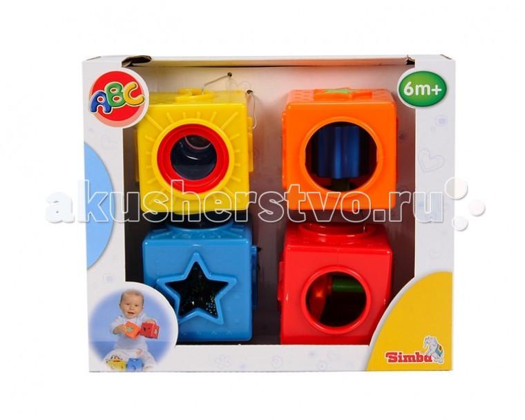 Развивающие игрушки Simba ABC Кубики simba самолет инерционный цвет красный