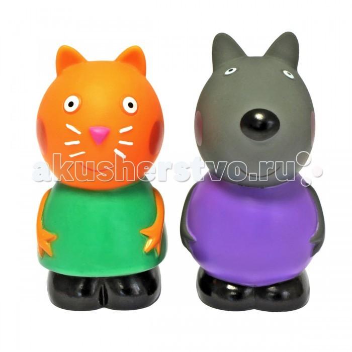 Игрушки для ванны Свинка Пеппа (Peppa Pig) Игрушки для купания Кенди и Денни 10 см