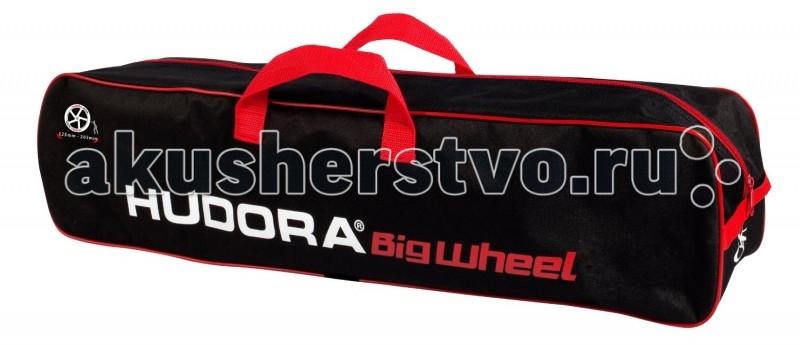 Hudora Сумка для самоката Big Wheel Scooter bagСумка для самоката Big Wheel Scooter bagСумка для переноски самокатов размеров колеса от 125 мм до 205 мм.  Превосходно подходит для хранения и переноски самокатов.  Ткань легко чистится.<br>
