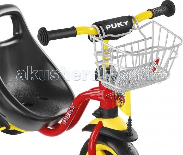Аксессуары для велосипедов и самокатов Puky Передняя корзина для трехколесных велосипедов и самокатов rt рюкзак тачки для велосипедов и самокатов