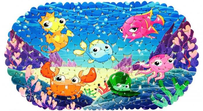 коврики для купания Коврики для купания Aqua-Prime для ванны 67х36 см
