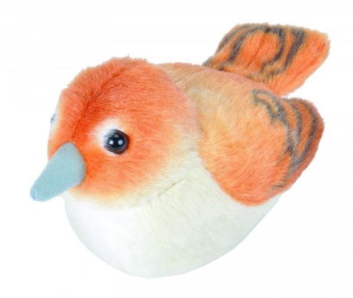 Купить Мягкие игрушки, Мягкая игрушка Wild Republic Птица озвученная Соловей 15 см