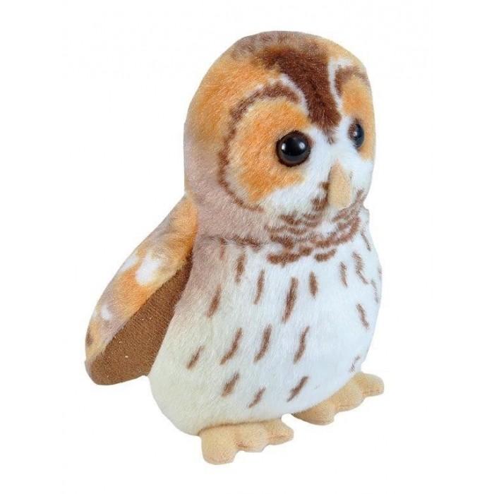 Мягкие игрушки Wild Republic Птица озвученная Сова Неясыть 17 см
