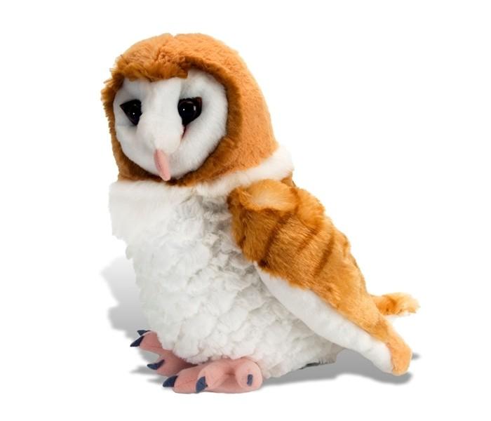 Купить Мягкие игрушки, Мягкая игрушка Wild Republic Сова Сипуха 30 см
