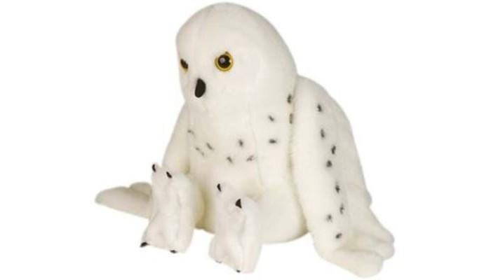 Купить Мягкие игрушки, Мягкая игрушка Wild Republic Сова полярная 30 см 81410