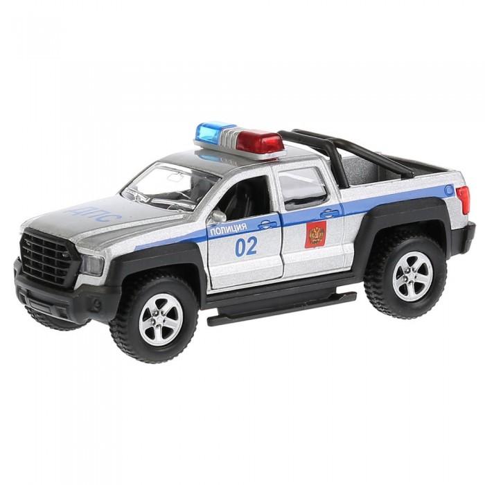 Купить Машины, Технопарк Машина Пикап Полиция инерционная 13, 3 см