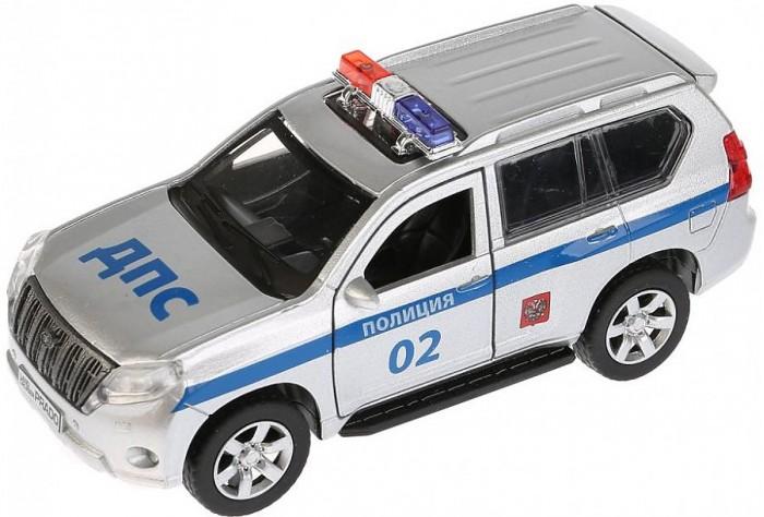 Машины Технопарк Машина Toyota Prado Полиция инерционная 12 см технопарк машинка технопарк металлическая toyota prado полиция