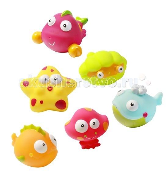 BabyOno Игрушки для купания Подводный мир