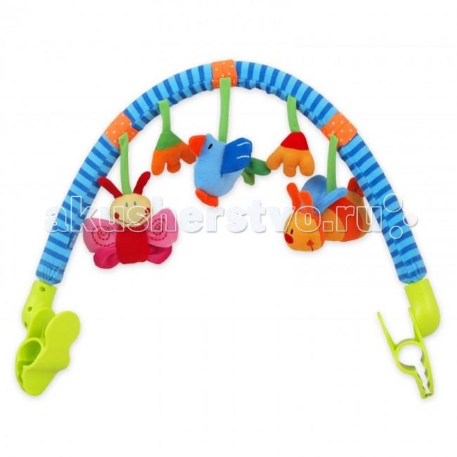 Дуги для колясок и автокресел Baby Mix Развивающая дуга Луг, Дуги для колясок и автокресел - артикул:66676