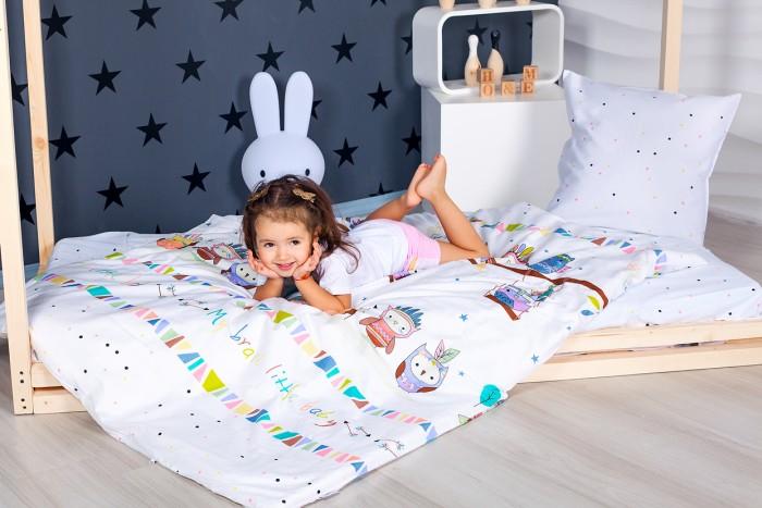 Комплект в кроватку Makkaroni Kids Храбрые инди (4 предмета) 160х80 см