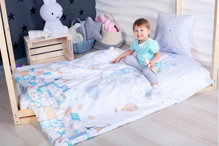 Комплект в кроватку Makkaroni Kids Изумрудный город (4 предмета)