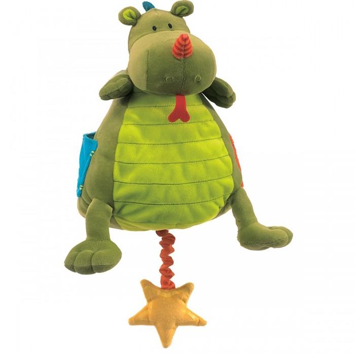 Купить Мягкие игрушки, Мягкая игрушка Lilliputiens музыкальная Дракон Уолтер