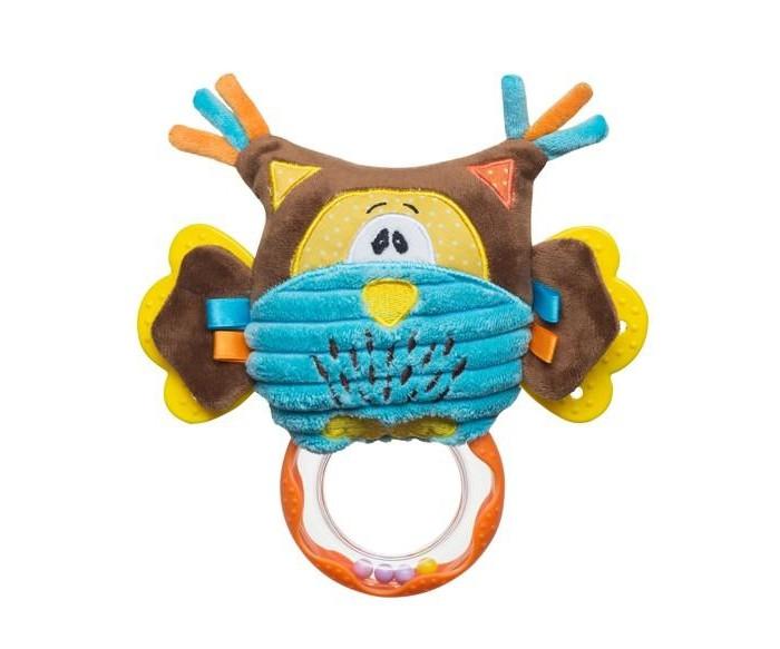 Подвесные игрушки BabyOno Совенок с погремушкой babyono мягкая игрушка с погремушкой ежик сharlie