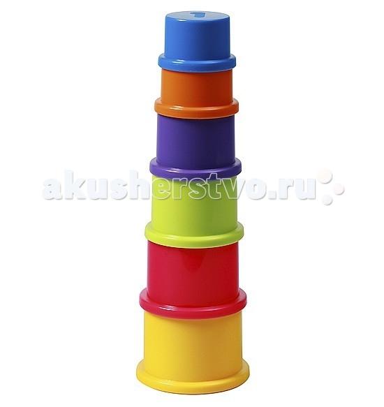 Развивающие игрушки BabyOno Пирамидка Цифры