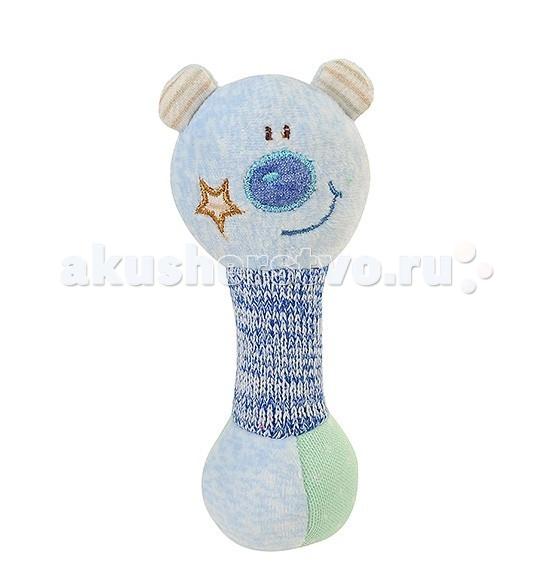 Мягкие игрушки BabyOno пищалка Маленький Мишка babyono развивающая игрушка гимнастика малыша