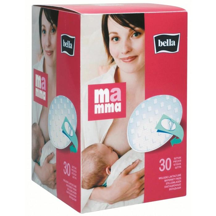 Гигиена для мамы Bella Лактационные вкладыши Mamma с липучкой 30 шт. гигиена для мамы hartmann вкладыши для кормящей мамы bel baby nursing pads 30 шт