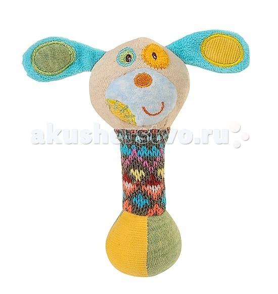 Мягкие игрушки BabyOno пищалка Маленькая Собачка подвесные игрушки babyono музыкальная игрушка собачка вельвет