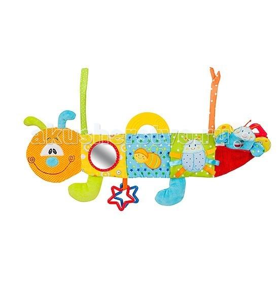 Развивающие игрушки BabyOno Гусеничка мультисенсорная развивающие игрушки babyono пирамидка цифры