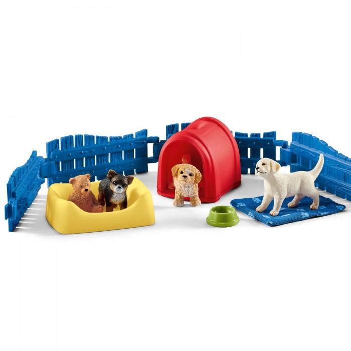 Купить Schleich Игровые фигурки Манеж для щенков