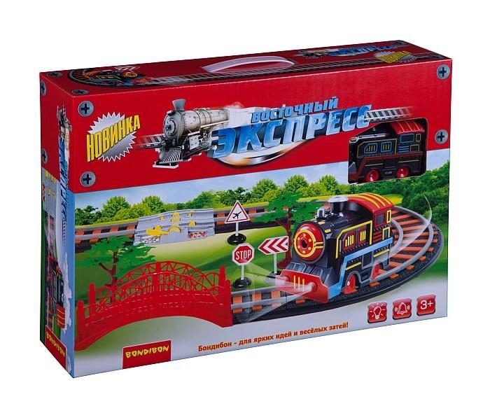 Купить Железные дороги, Bondibon Железная дорога Восточный экспресс с одним паровозом