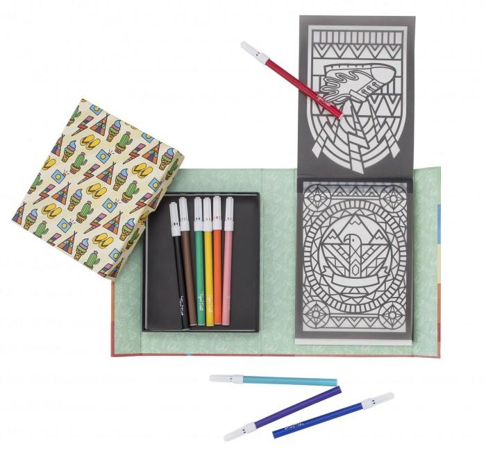 Купить Наборы для творчества, Tiger Tribe Набор для создания витражных рисунков Солнечные мечты