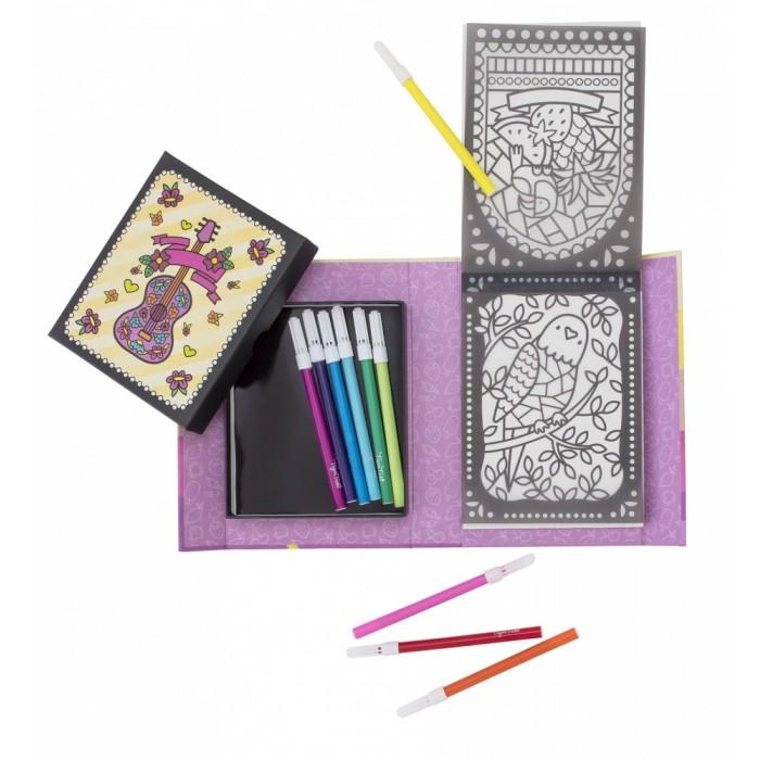 Наборы для творчества Tiger Tribe Набор для создания витражных рисунков Солнечный день