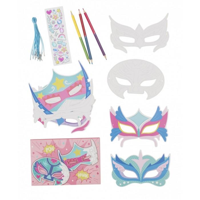 Наборы для творчества Tiger Tribe Набор для создания масок Волшебная сила набор масок царский подарок 6шт dizao наборы