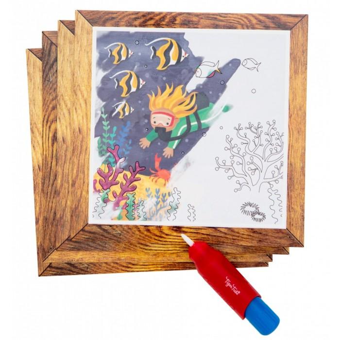 Картинка для Раскраска Tiger Tribe Набор для рисования водой Океан