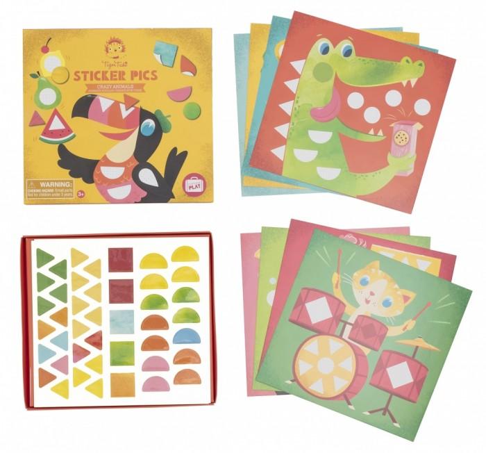наборы для творчества Наборы для творчества Tiger Tribe Набор для творчества с наклейками Веселые животные