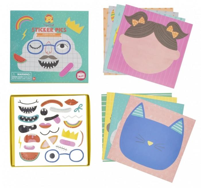 Купить Tiger Tribe Набор для творчества с наклейками Смешные лица в интернет магазине. Цены, фото, описания, характеристики, отзывы, обзоры