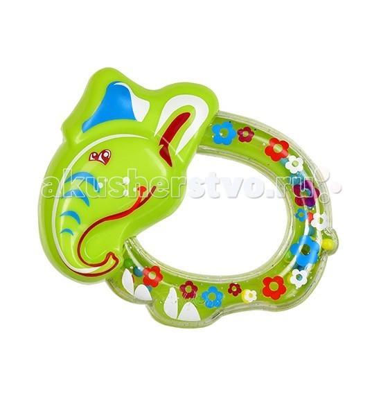 Погремушки BabyOno Слоненок погремушки babyono прорезыватель осьминожка