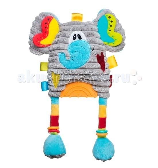 Подвесные игрушки BabyOno Слоник с прорезывателем