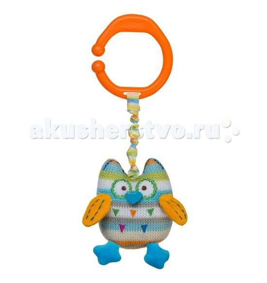 Подвесные игрушки BabyOno Сова с вибрацией и колокольчиком развивающие игрушки i baby сова на мяче