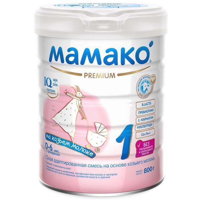 Мамако 1 Молочная смесь на основе козьего молока 800 г 00000002