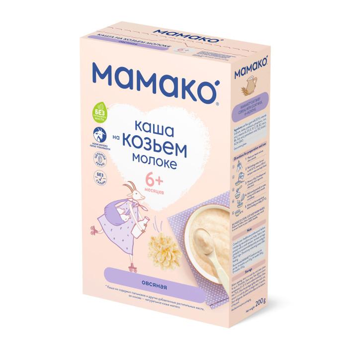 Фото Каши Мамако Молочная овсяная каша на козьем молоке с 6 мес. 200 г