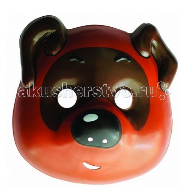 Товары для праздника Союзмультфильм Маска Винни Пух игрушки для ванной союзмультфильм игрушка винни пух блистере