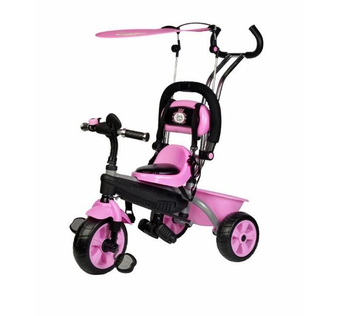 Купить Велосипед трехколесный Jack&Lin с Зайкой на Тенте в интернет магазине. Цены, фото, описания, характеристики, отзывы, обзоры