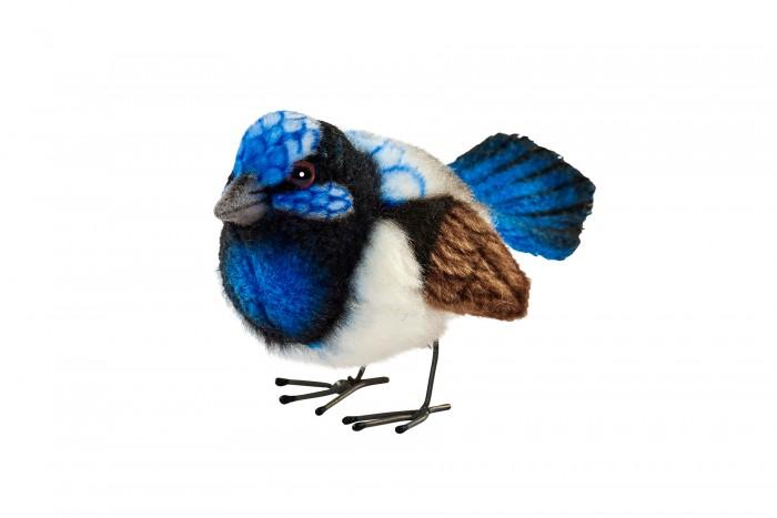 Картинка для Мягкая игрушка Hansa Крапивник голубой 7 см