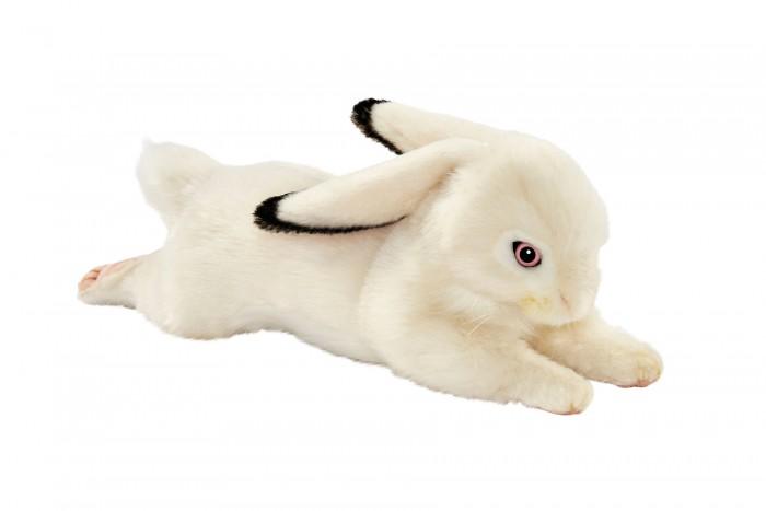 Купить Мягкие игрушки, Мягкая игрушка Hansa Белый кролик вислоухий 40 см