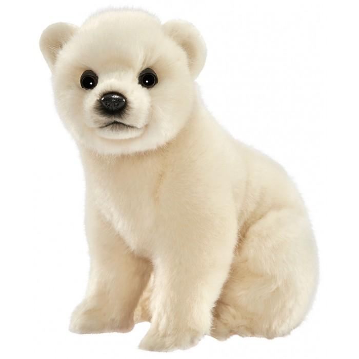 Купить Мягкие игрушки, Мягкая игрушка Hansa Медвежонок белый 24 см