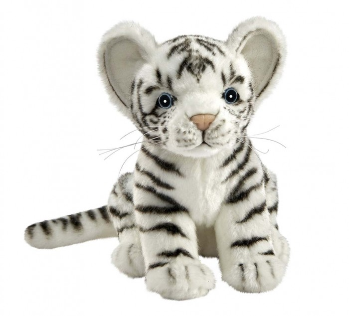 Купить Мягкие игрушки, Мягкая игрушка Hansa Белый тигренок 17 см