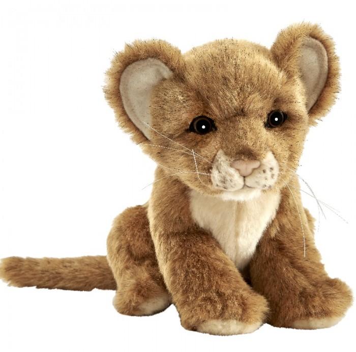 Картинка для Мягкая игрушка Hansa Львенок коричневый 17 см