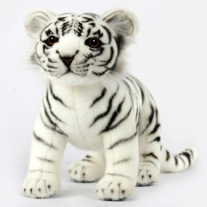 Купить Мягкие игрушки, Мягкая игрушка Hansa Тигренок белый стоящий 33 см
