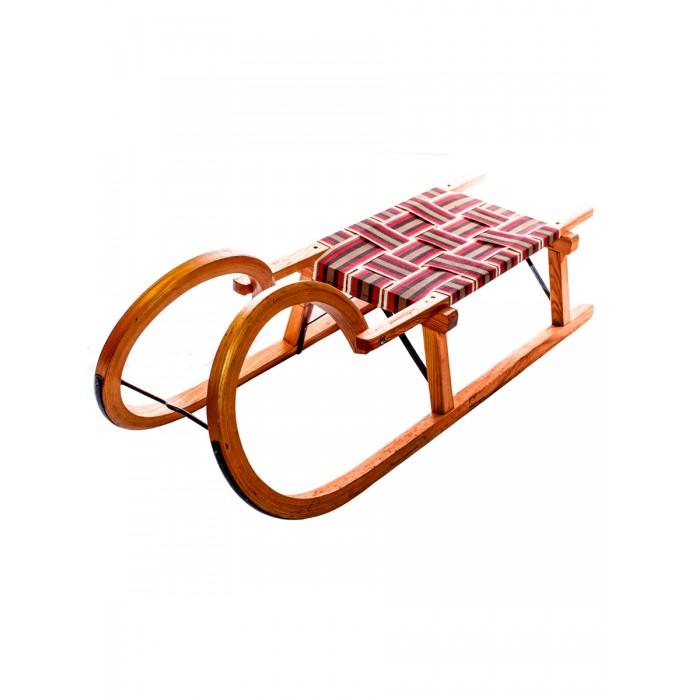 Санки Sport Rodel Деревянные 10993140Санки<br>Sport Rodel Деревянные санки   Легкие санки, изготовленные из натурального бука , имеют огруглые и безопасные формы рамы и полозьев. На полозьях есть металлический полоз.   Максимальная нагрузка на детские санки - 50 кг