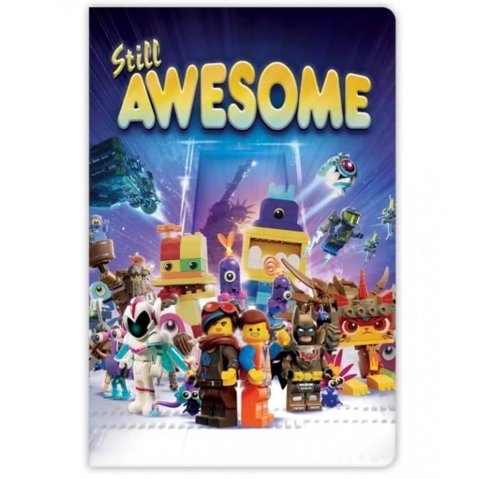 Канцелярия Lego Книга для записей Movie 2 Epic Space Opera линейка 96 листов блок для записей epic ideas 170л 8х10 5 бз2017 15