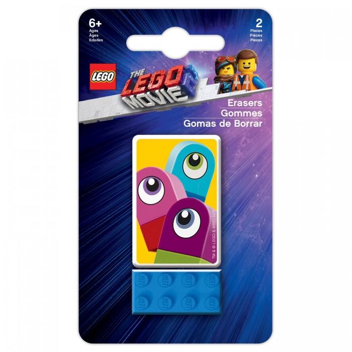 Канцелярия Lego Набор ластиков Movie 2 Duplo 2 шт.